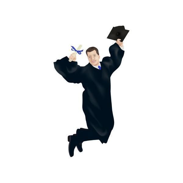 600x600 Free Cartoon Graduation Clip Art Dromgac Top 2