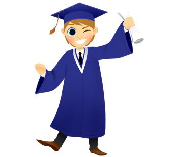 340x309 Graduation Clip Art