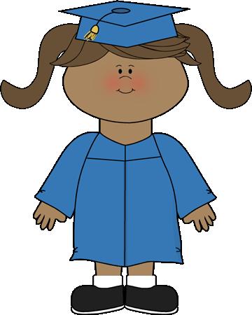 360x450 Graduation Girl Clipart