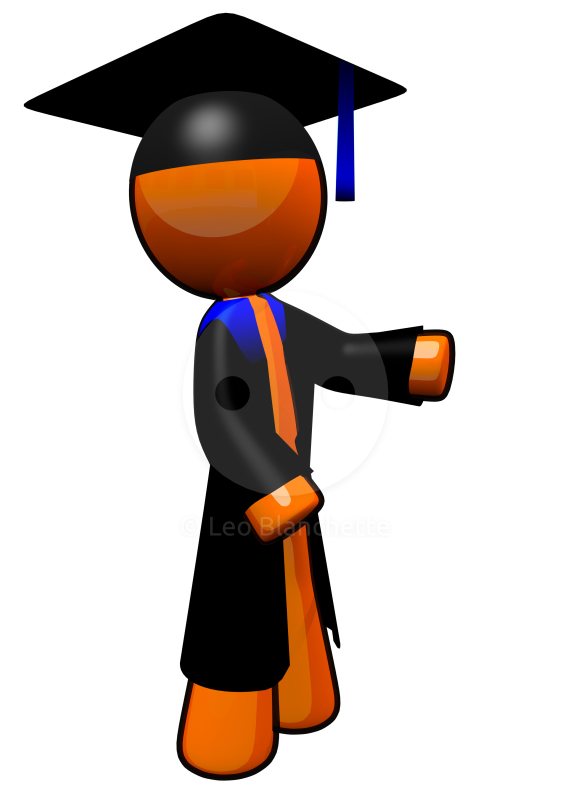 571x800 Of A High School Or College Graduate Clip Art Illustration Image