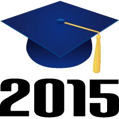 240x240 College Graduation 2015 Clipart 2111963