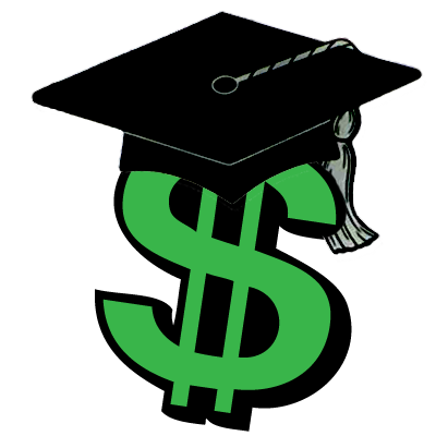 400x400 College Scholarship Clip Art Image