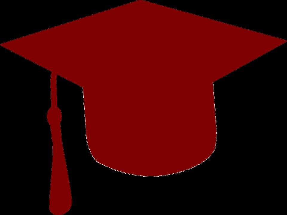 960x718 Maroon Clipart Graduation Cap