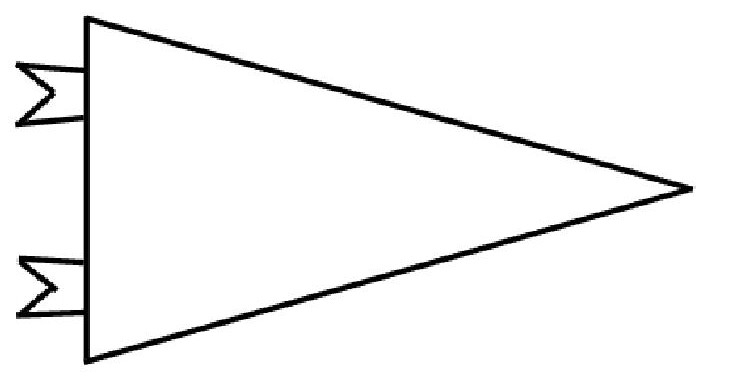 744x377 College Pennant Banner Template Scrapheap