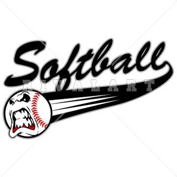 361x361 23 Best Softball Clip Art Images Clip Art, Sporty