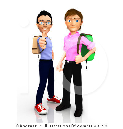 400x420 College Student Clipart Free