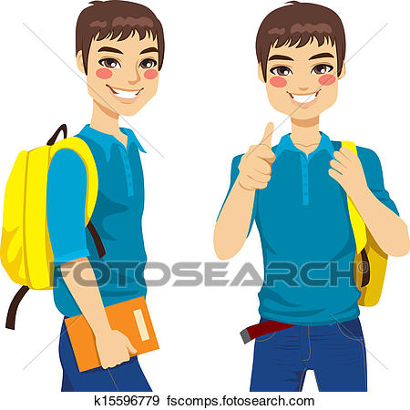 450x450 Clip Art Of College Dorm Move K20416337
