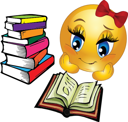 512x486 Girl Studying Clip Art Cliparts