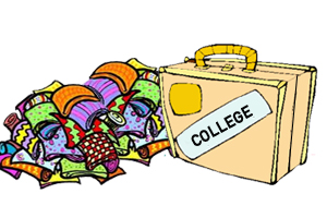 300x200 College Student Clipart Black And White Free Image