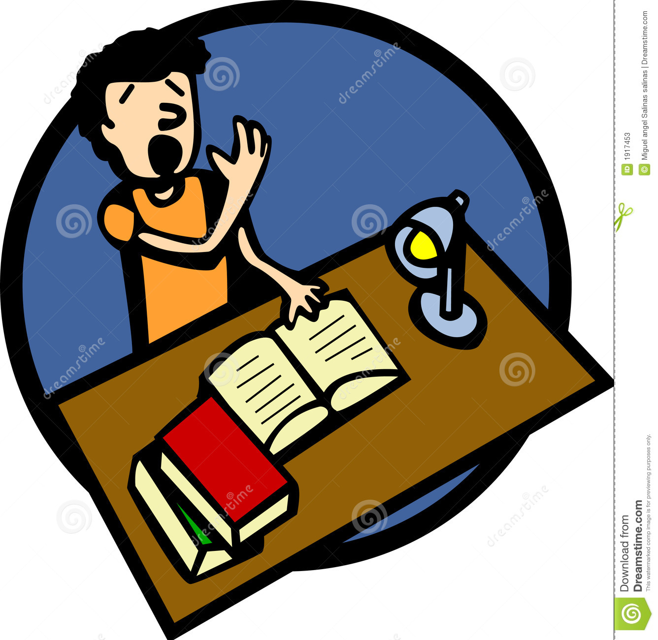 1336x1300 Student Studying Clipart