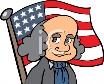 350x282 Flag clipart colonist