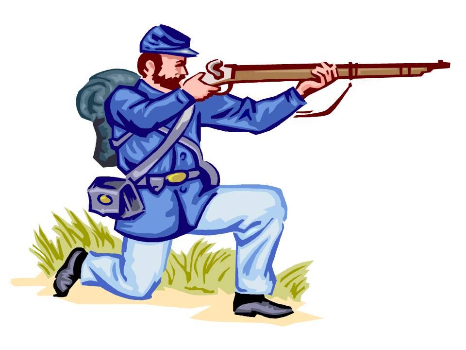 960x720 U S Civil War Clipart