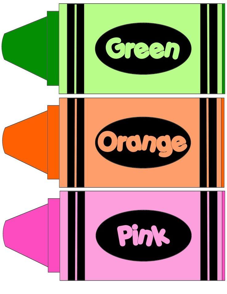 Color Crayon Clipart