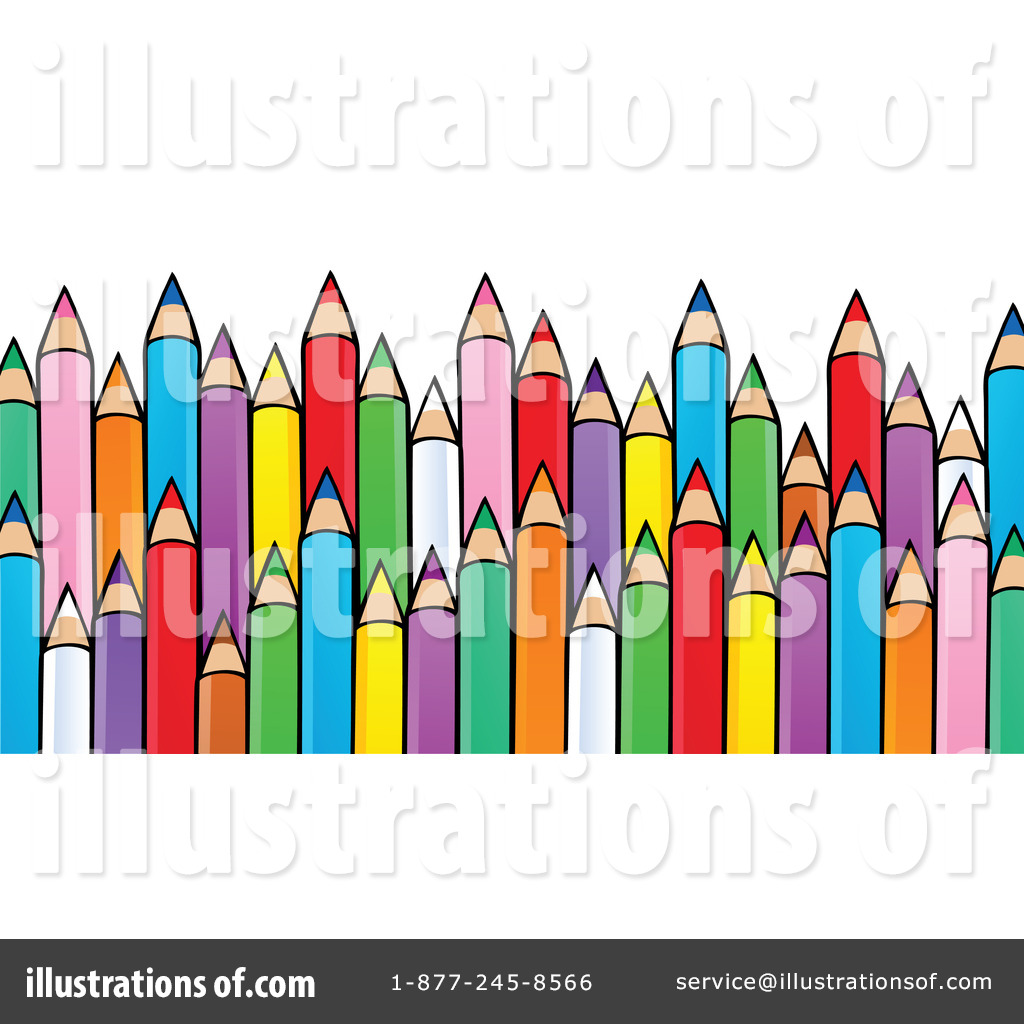 1024x1024 Colored Pencils Clipart