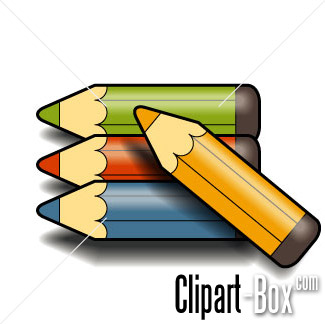 325x324 Crayon Colored Pencil Clipart