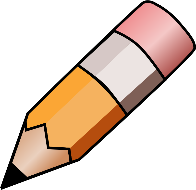 800x779 Pencil Clipart Objects