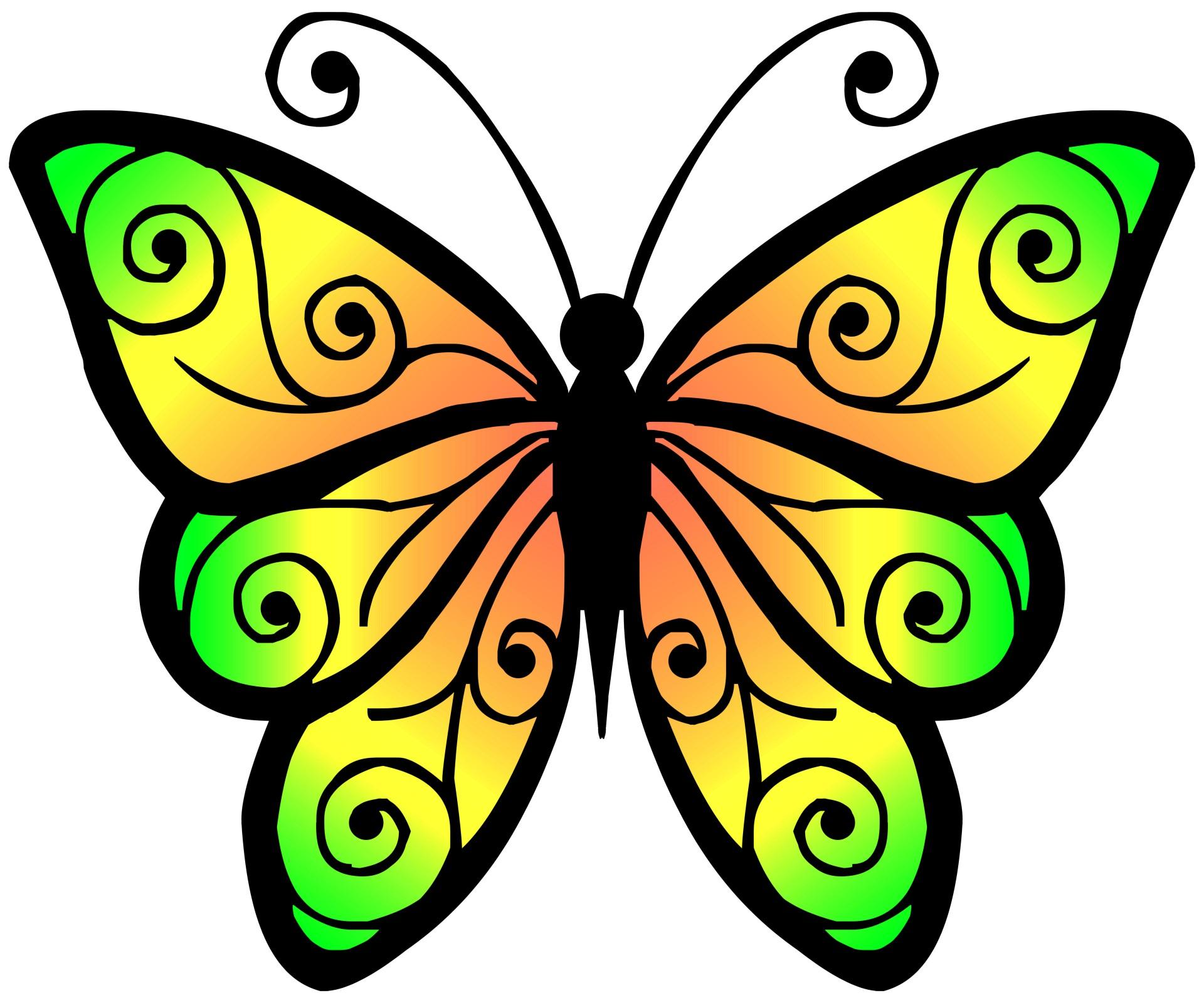 1920x1600 Butterfly Clipart High Resolution