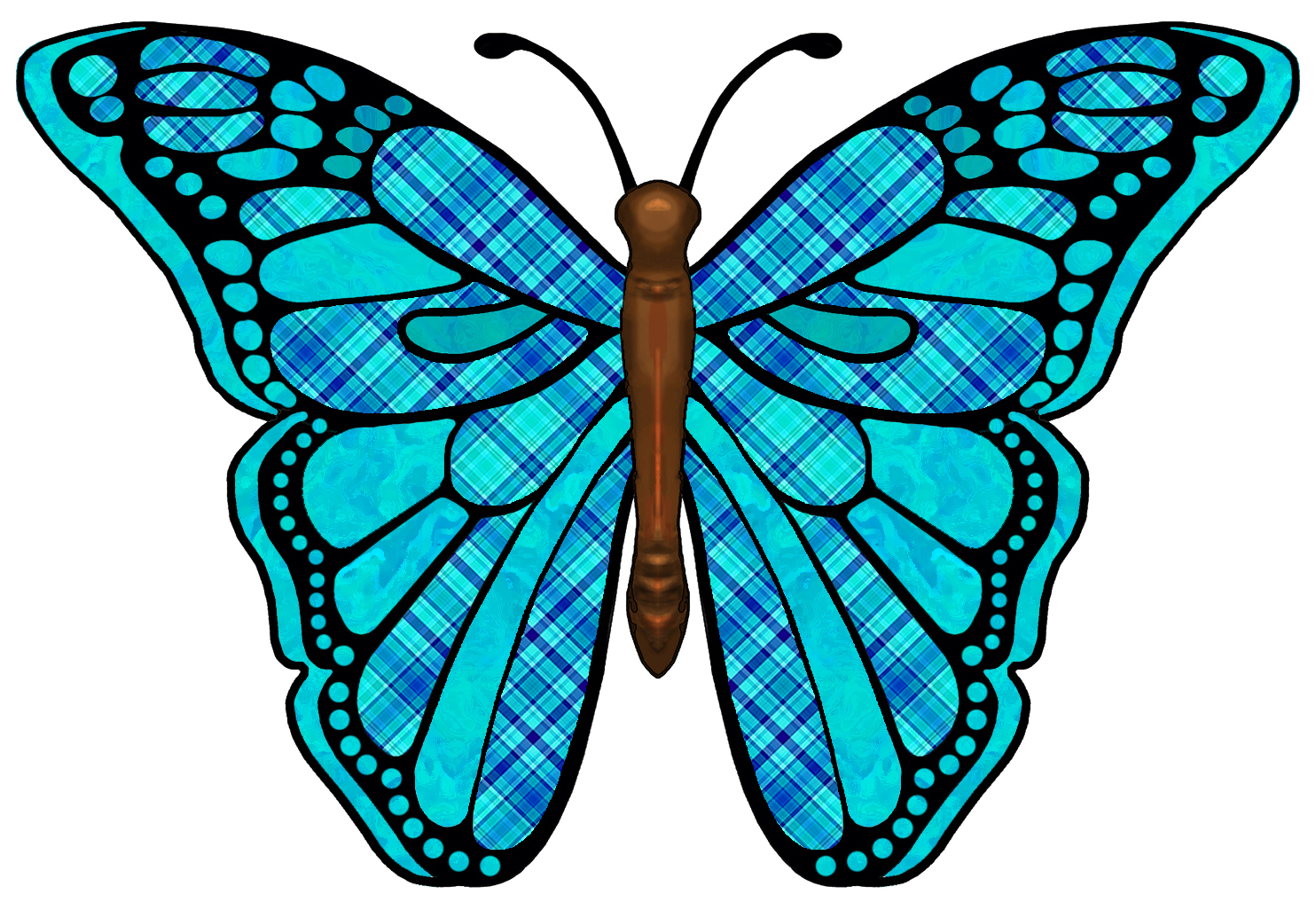 1484x1026 Fantasy Clipart Colorful Butterfly