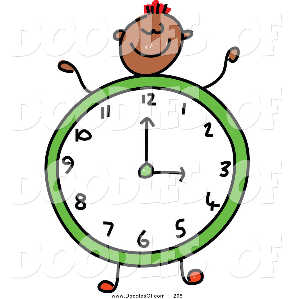 Colorful Clock Clipart | Free download best Colorful Clock