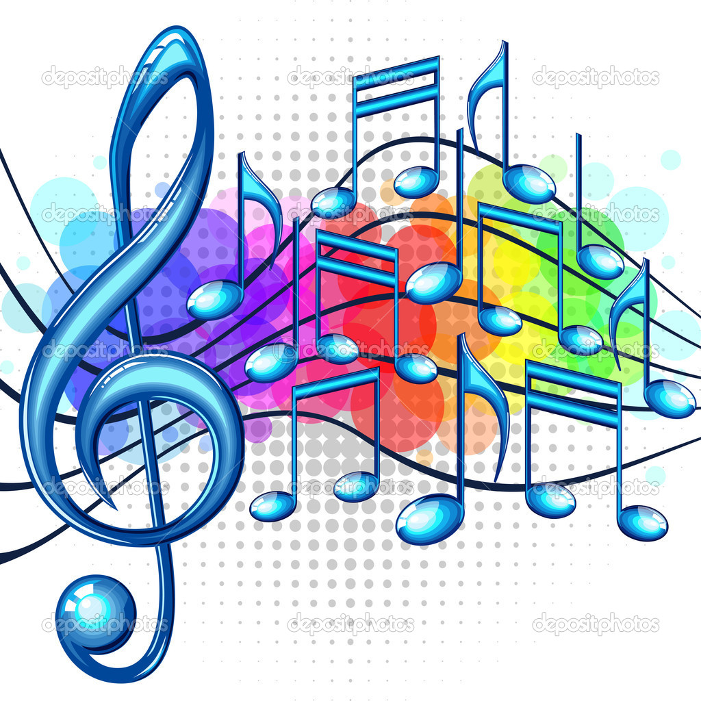 Cool Wallpaper Music Graffiti Art - colorful-music-notes-wallpaper-27  Photograph_631615.jpg