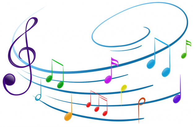 Colorful Musical Notes | Free download on ClipArtMag