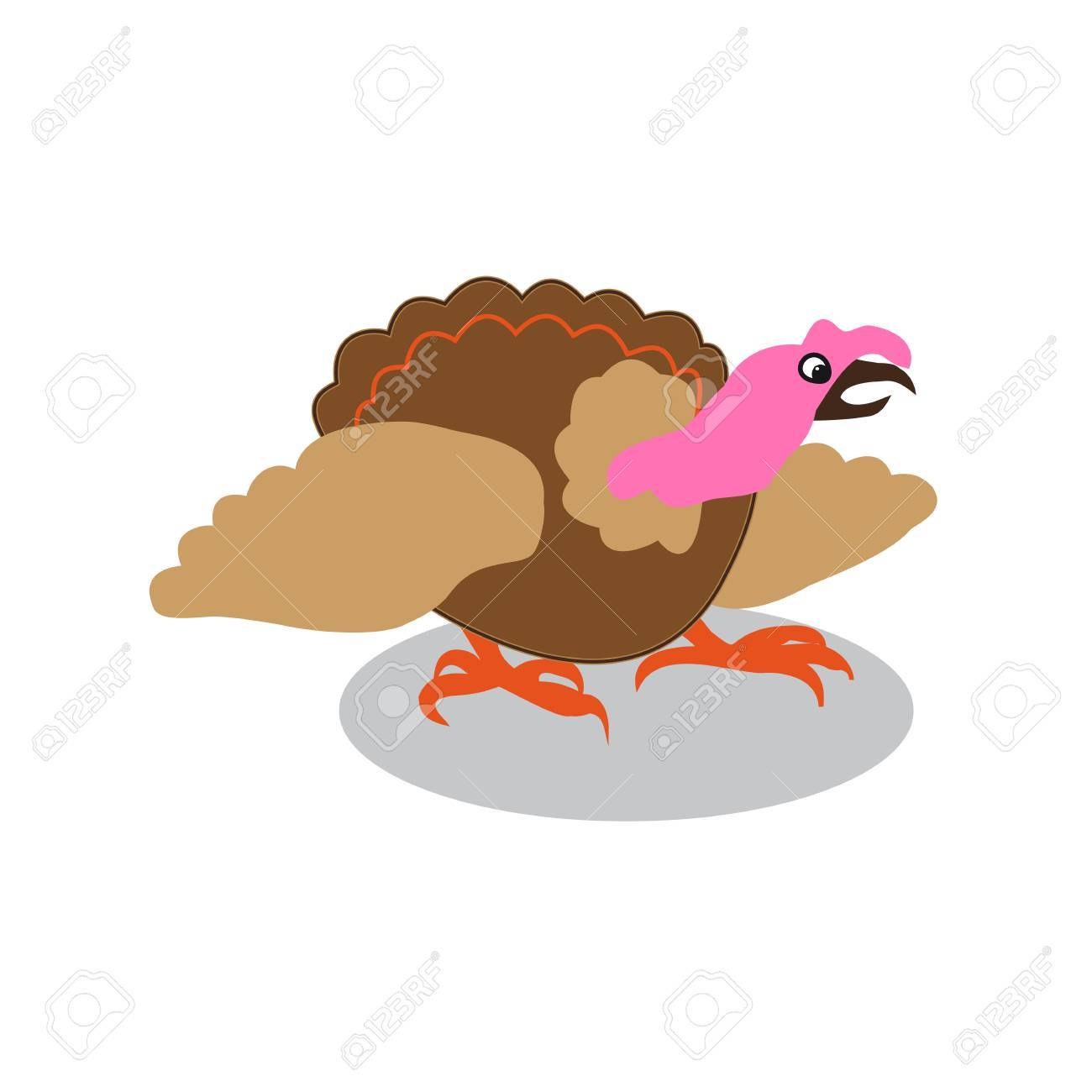 1300x1300 Colorful Turkey White Background Royalty Free Cliparts, Vectors