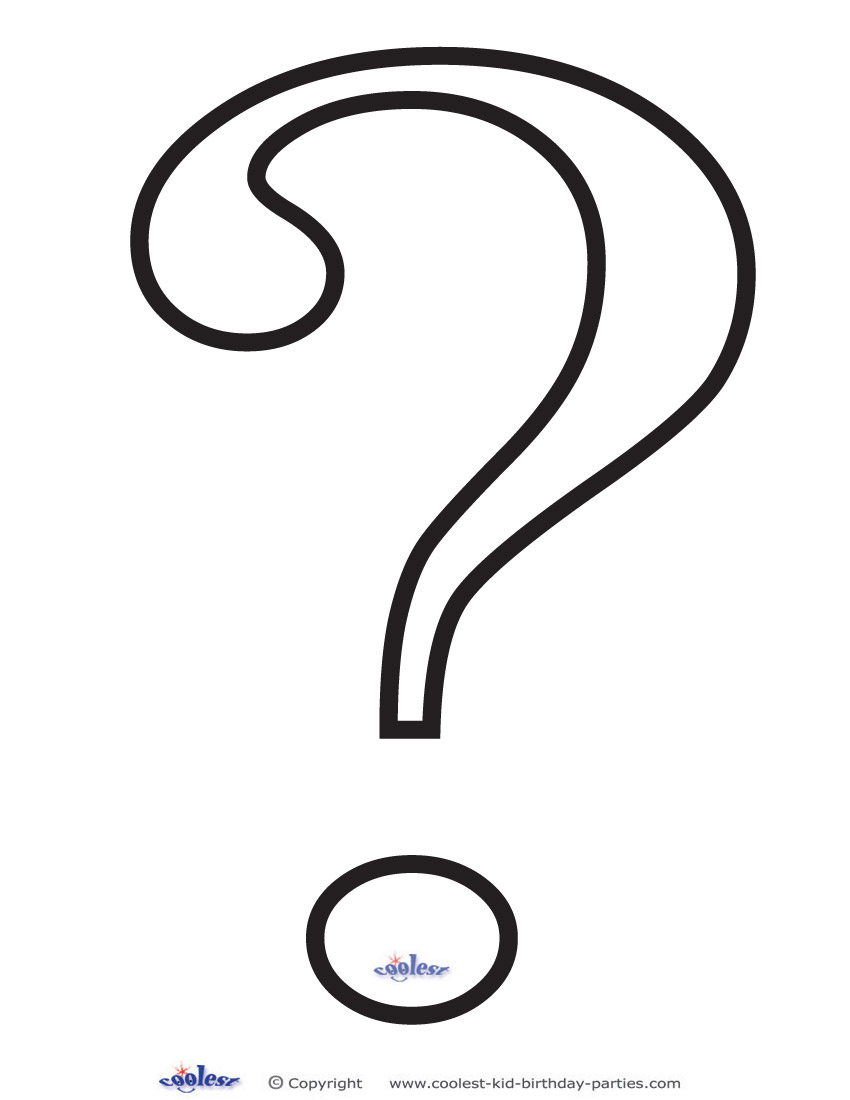 850x1100 Coloring Page Question Mark Bpax In Style