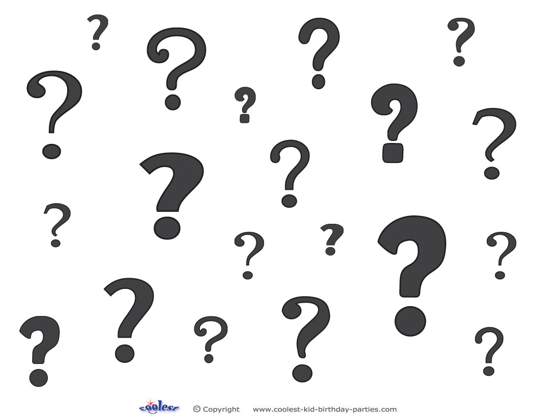 1100x850 Printable Question Marks Decoration 1