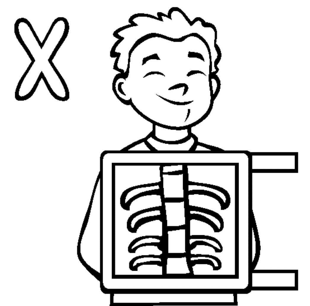 1047x1033 X Ray Coloring Sheet Coloring Sheet