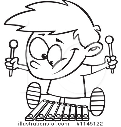 400x420 Xylophone Clipart
