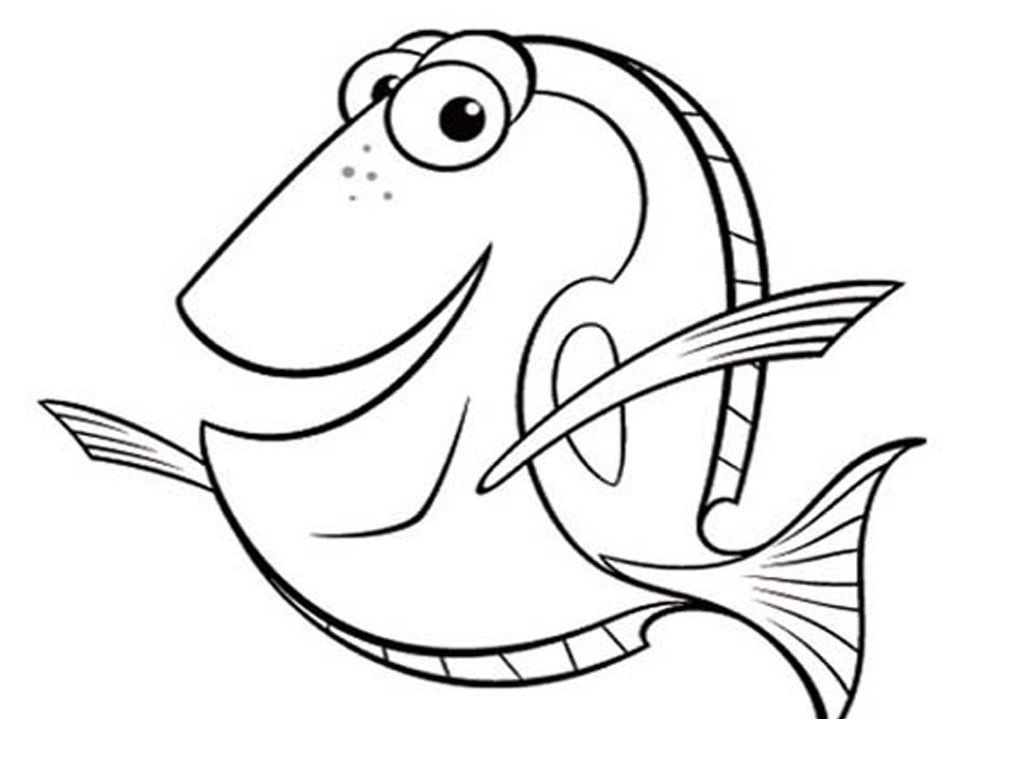 1024x768 Underwater Coloring Pages