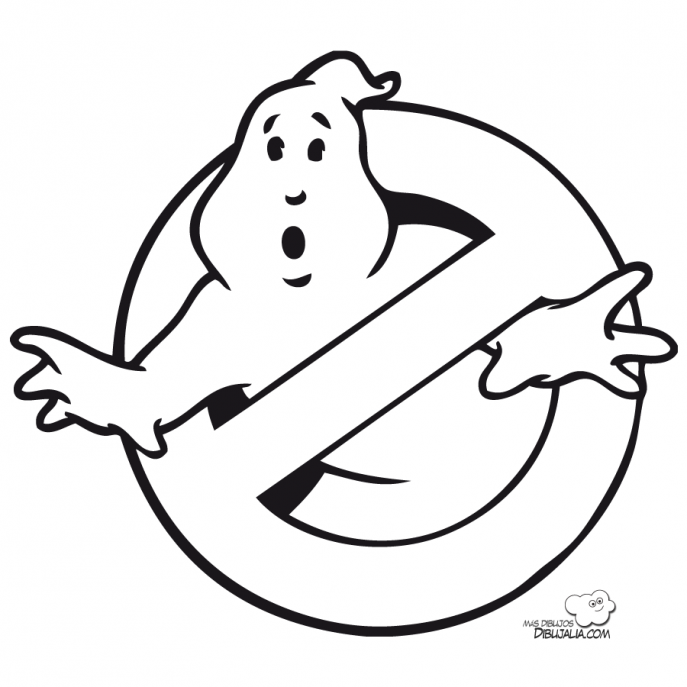 687x687 Coloring Pages Outstanding Ghostbusters Coloring Pages To Print