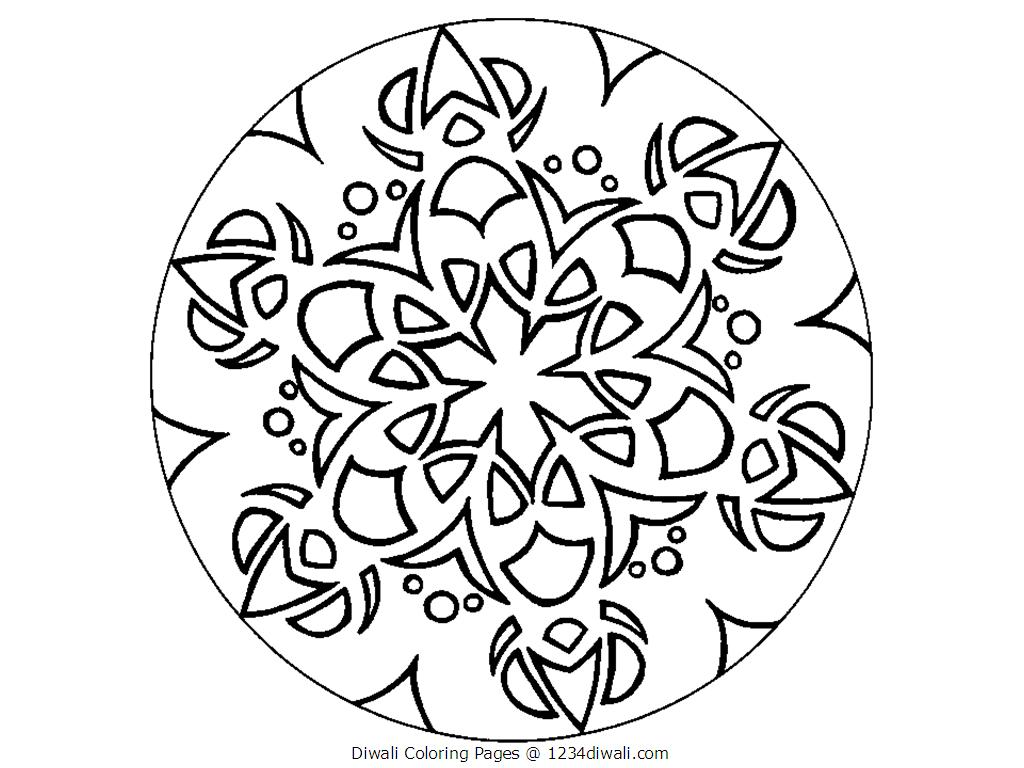 1024x768 Diwali Coloring Pages Best Coloring Pages