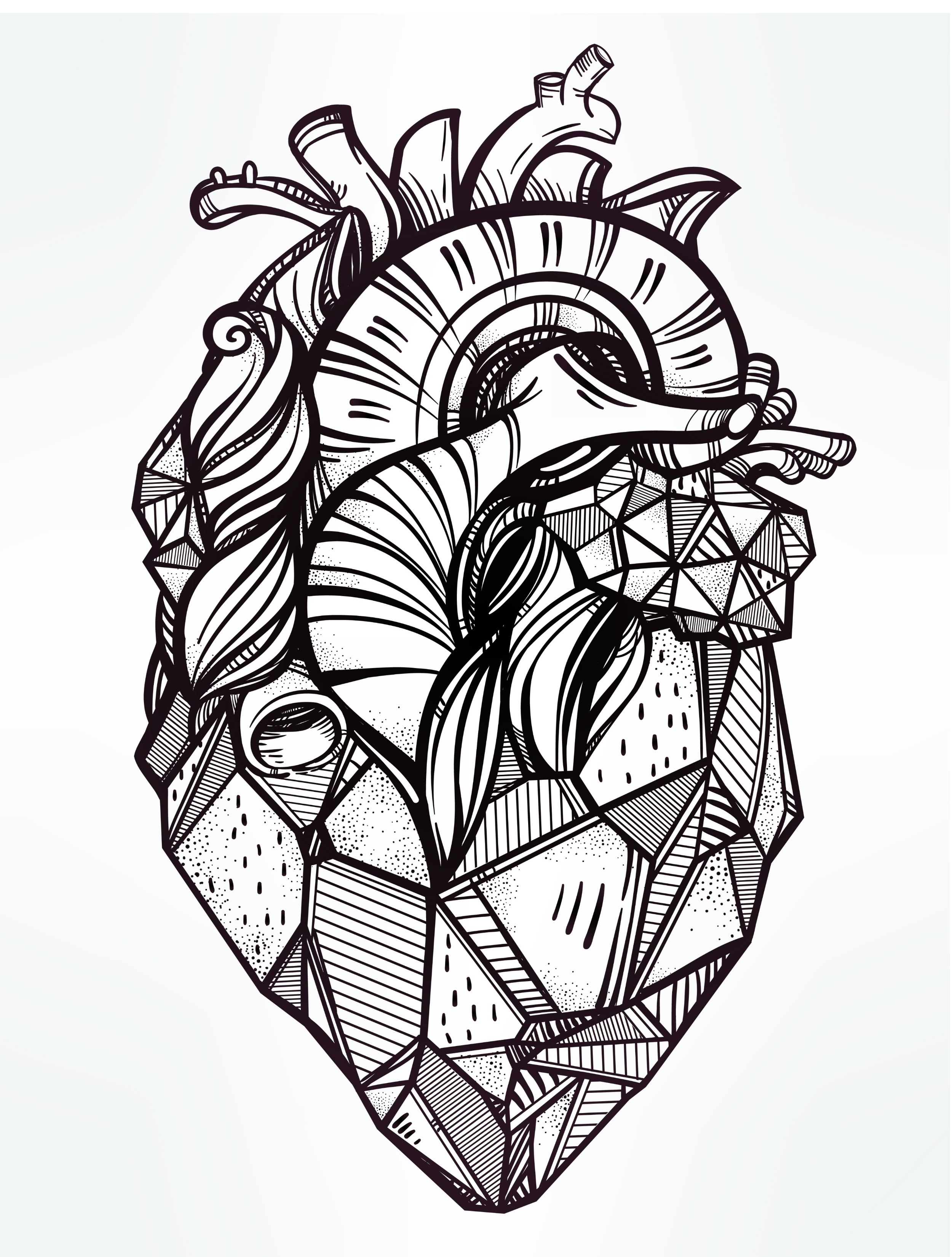 2500x3300 20 Free Printable Valentines Adult Coloring Pages