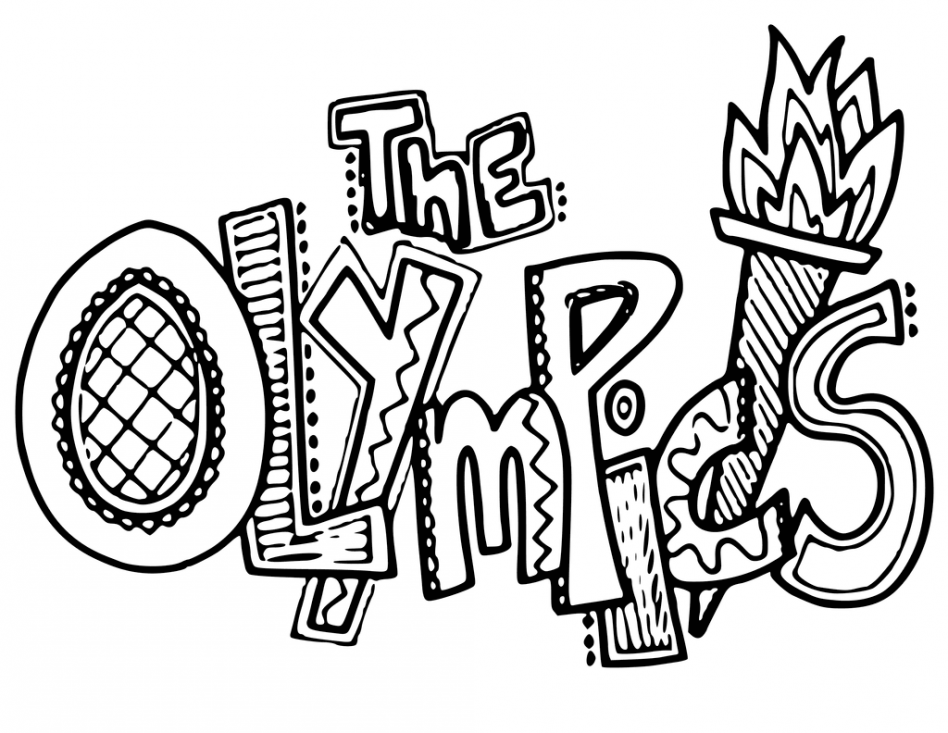 948x733 Winter Olympics Rings Coloring Pages Murderthestout
