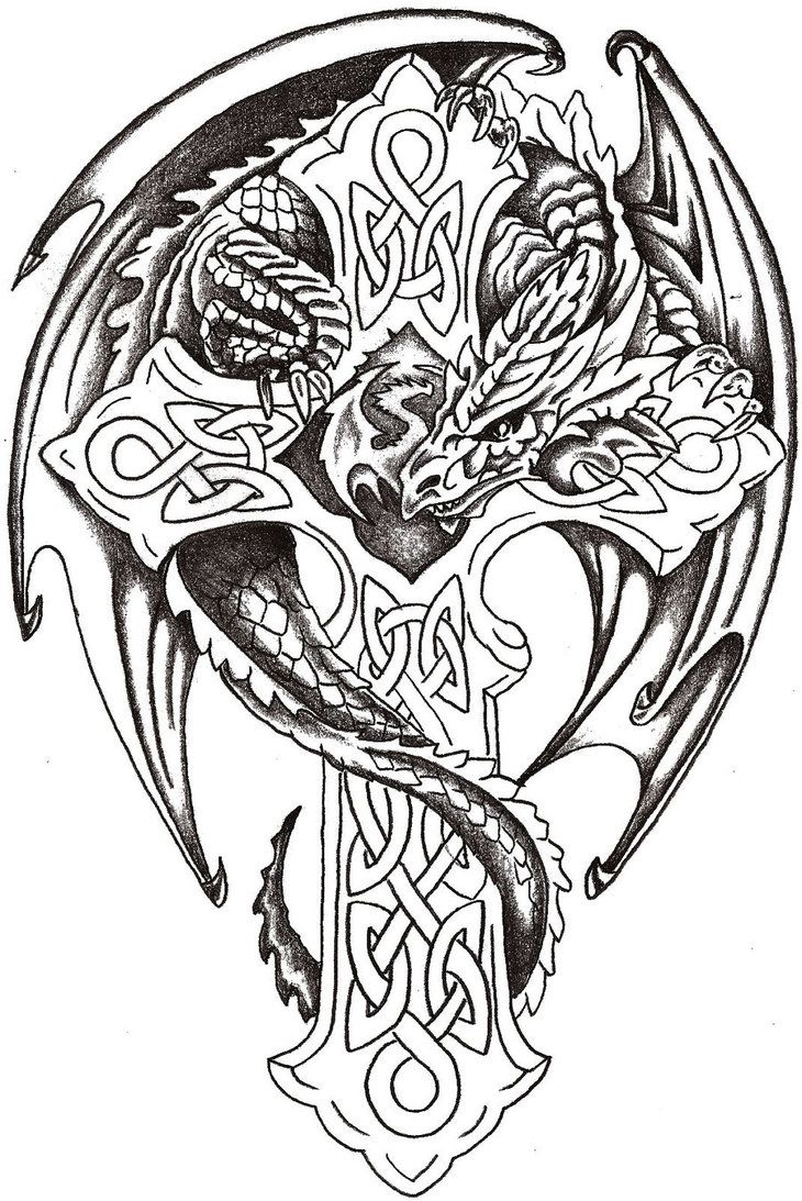 730x1093 Celtic Art Designs Dragon Lord Celtic Coloring Books Printable