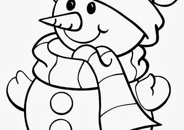 601x425 Christmas Printable Coloring Pages 25 Unique Christmas Coloring