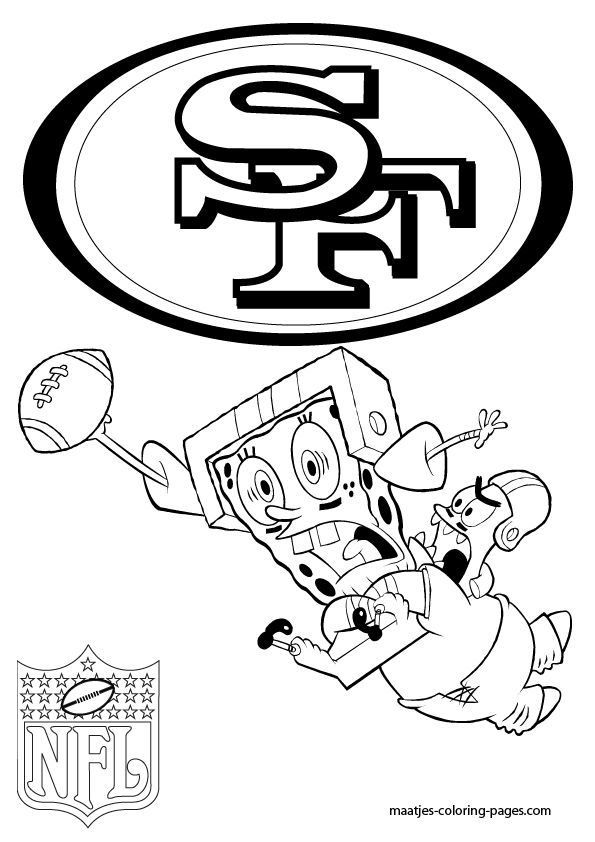 595x842 Marvelous Decoration 49ers Coloring Pages More San Francisco