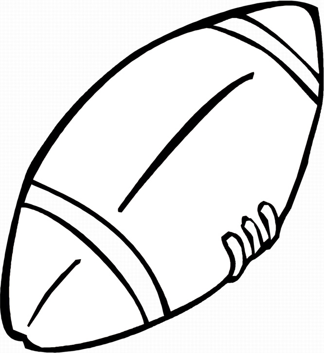 666x727 Printable Football Coloring Pages Coloring Me