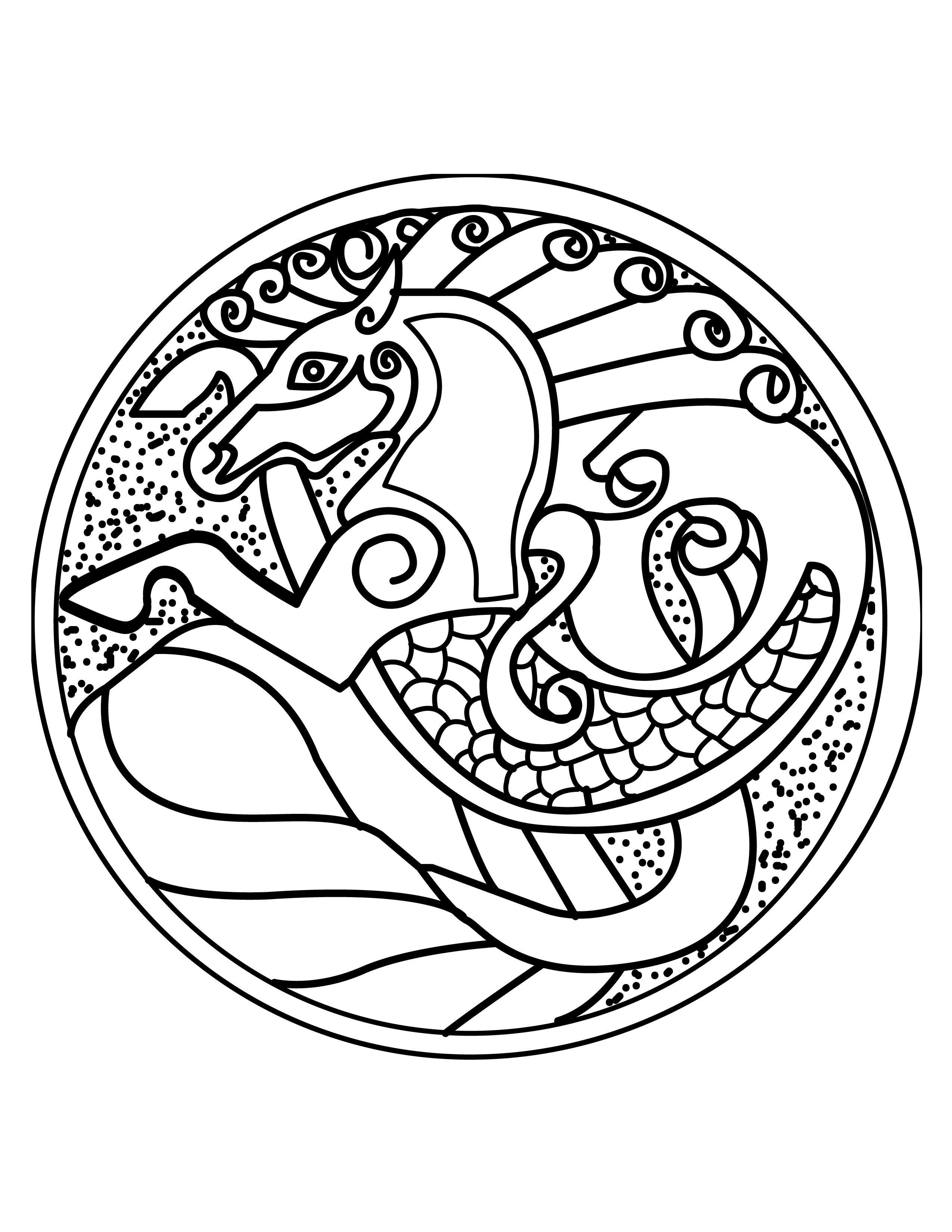 2550x3300 Colouring Pages