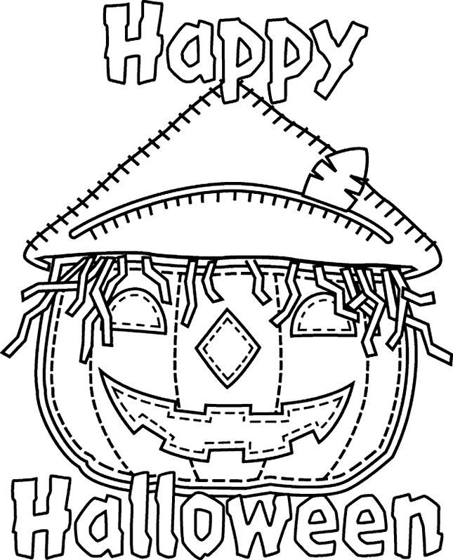 645x797 Free Printable Halloween Coloring Pages