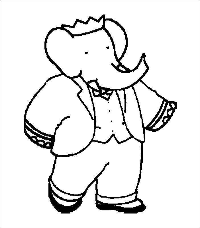 702x802 122 Best Babar Images Draw, Templates And Diy