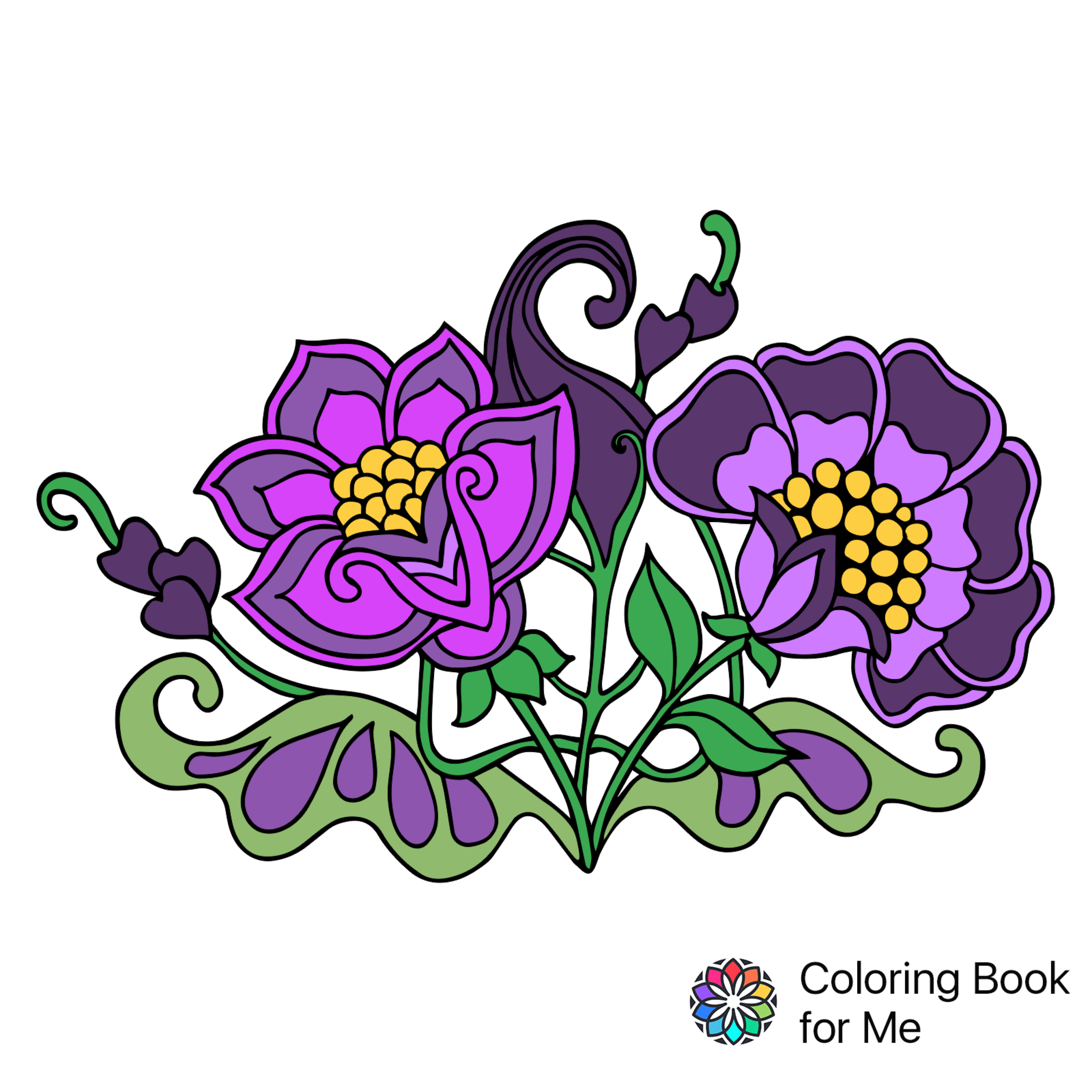 3200x3200 Colored With Coloring Book For Me Coloring Book