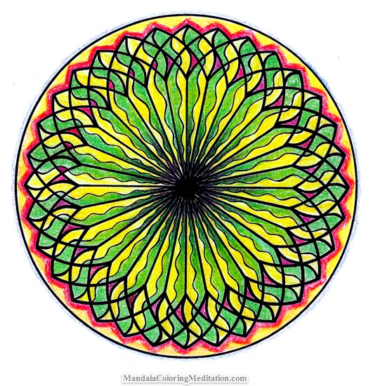 531x550 Free Coloring Pages Mandalas To Color, Download And Print