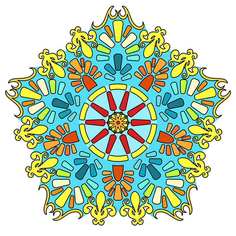 800x800 Great Big Book Of Mandala Pattern Coloring Pages For Adults