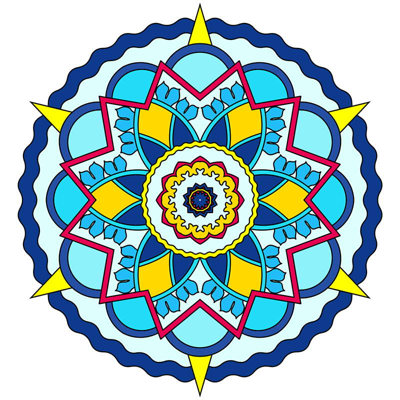 Adult Coloring Pages 800x800 Mandalas To Color