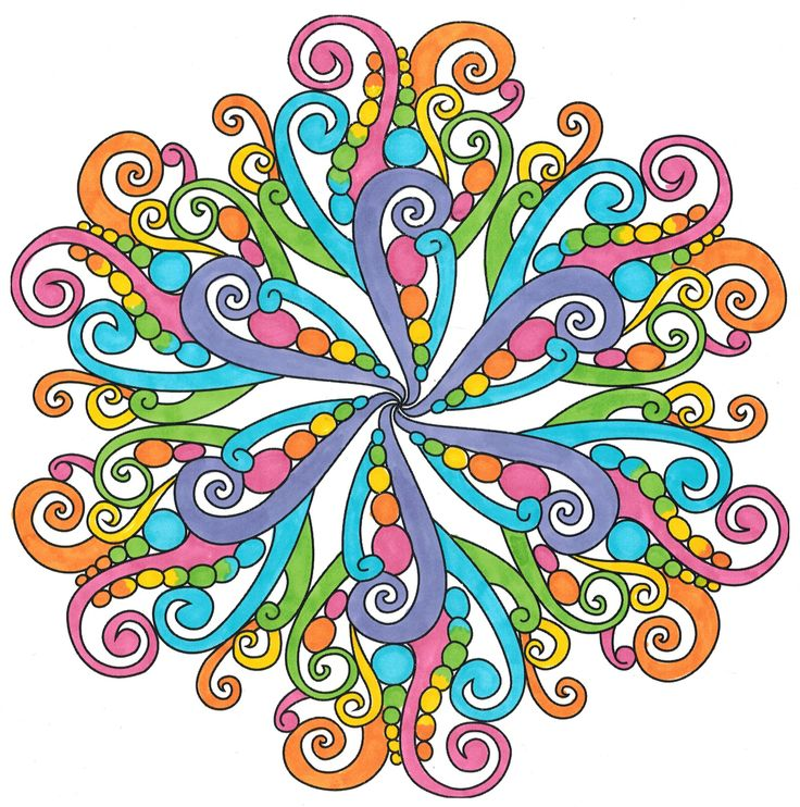 736x742 149 Best Finished Mandalas In Color Images Mandalas