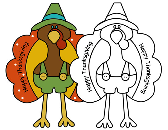 550x425 Turkey Coloring Pages Insightful Nana