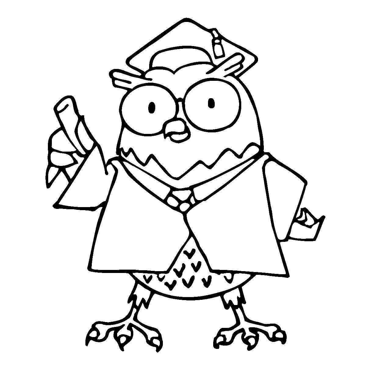 1200x1200 Animal Printable Coloring Pages For Adults Owl Coloring Pages