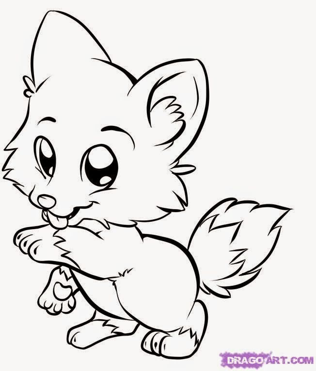 Coloring Pages Animals For Adults Free Download Best Rhclipartmag: Free Coloring Pages Of Cute Animals At Baymontmadison.com